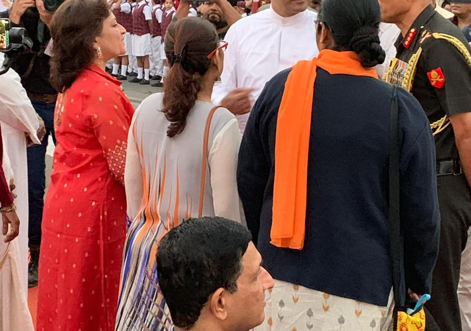 Governor's visit